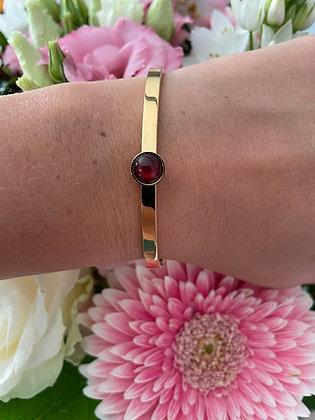 Bracelet *Tiana* brun