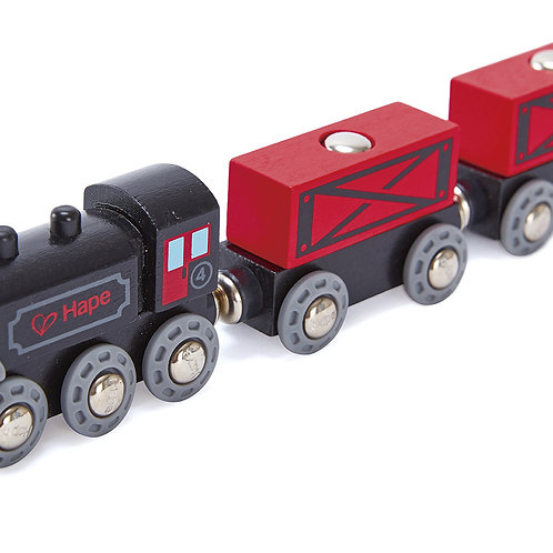 Steam-Era Freight Train