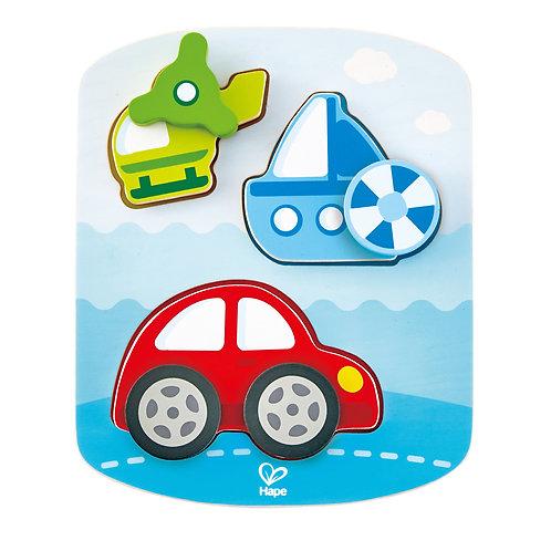 Dynamic Vehicle Puzzle