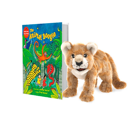 Animal Boogie with Full-Body African Lion Puppet