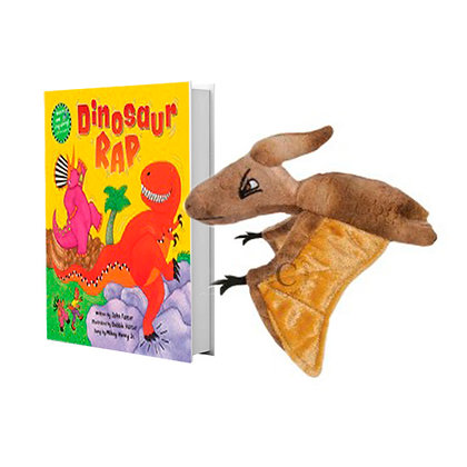 Dinosaur Rap with Pterodactyl Finger Puppet