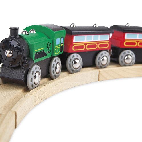 Steam-Era Passenger Train