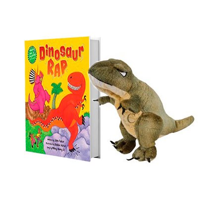 Dinosaur Rap with T-Rex Finger Puppet