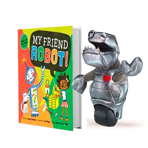 My Friend Robot with full-size puppet