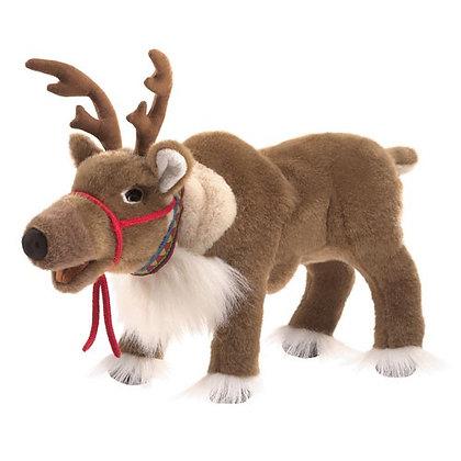 Full-Body Reindeer Puppet
