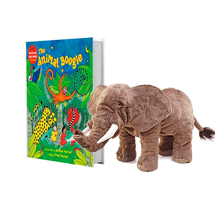 Animal Boogie with Full-Body Elephant Puppet