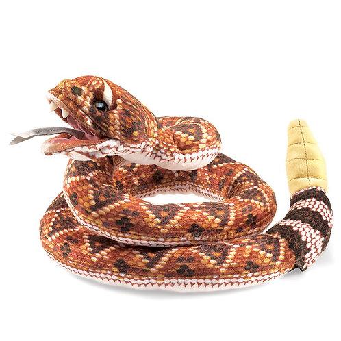 Full Body Rattle Snake Puppet