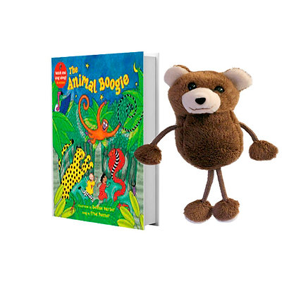 Animal Boogie with Bear Finger Puppet