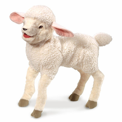 Full-Body Lamb Puppet