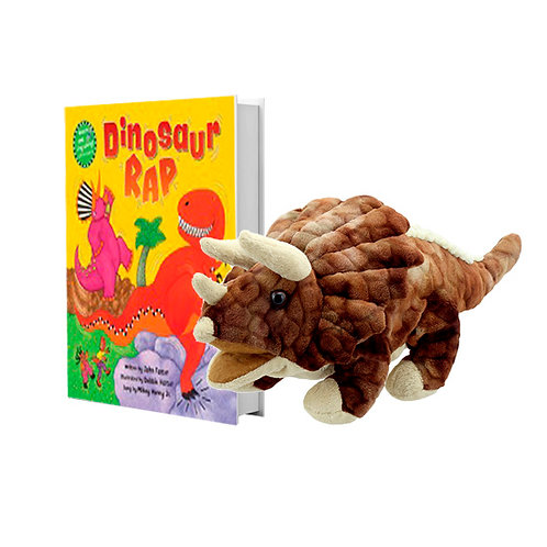 Dinosaur Rap with Full-Body Triceratops Puppet