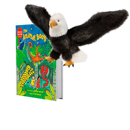 Animal Boogie with Full-Body Eagle Puppet