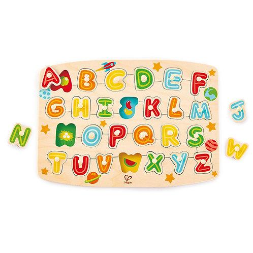 Alphabet Peg Puzzle
