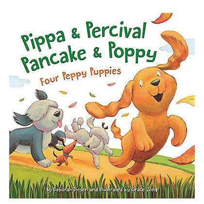 Pippa & Percival, Pancake & Poppy - Book Only