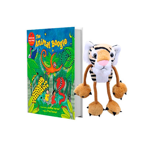 Animal Boogie with Tiger Finger Puppet