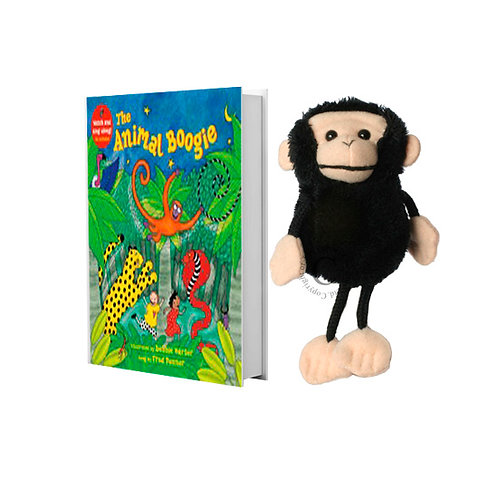 Animal Boogie with Monkey Finger Puppet