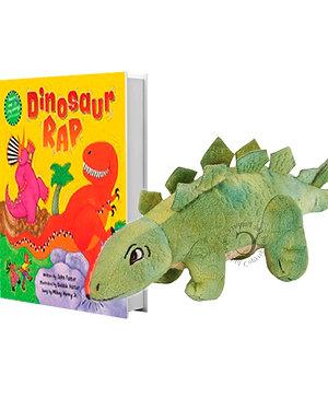 Dinosaur Rap with Stegosaurus Finger Puppet
