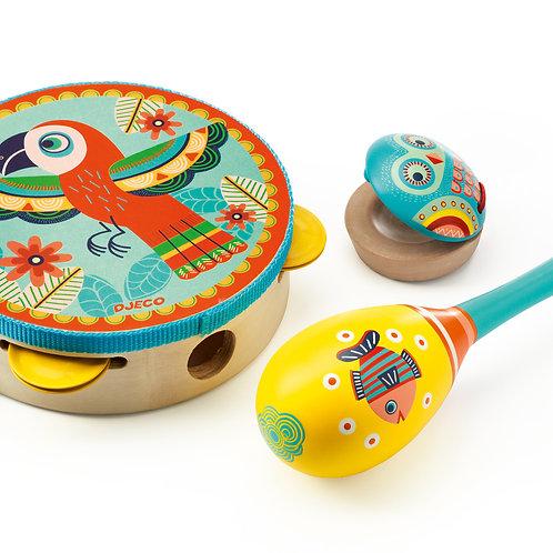 Tambourine - Maracas - Castanets (3)