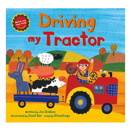Driving My Tractor with Full-set of Finger Puppets
