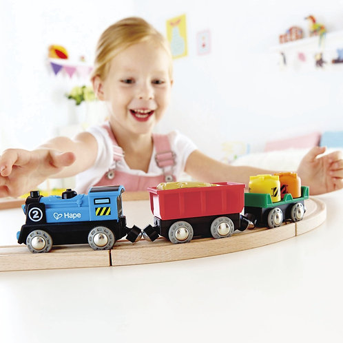 Battery Powered Rolling-Stock Set