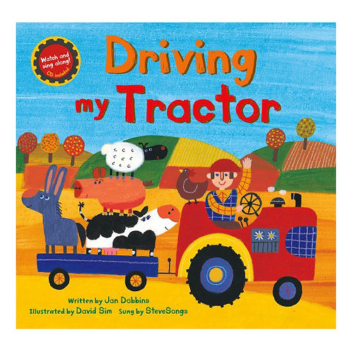 Driving My Tractor with Full-Set of Full-Body Puppets