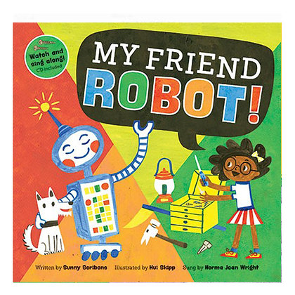 My Friend Robot Book
