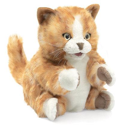 Full-Body Tabby Cat Puppet