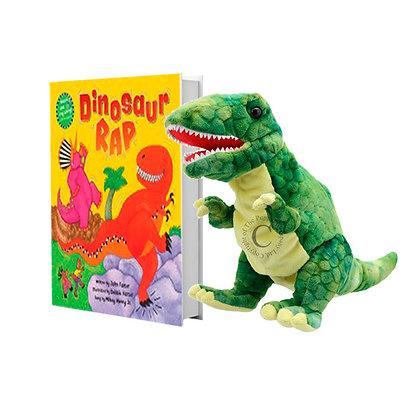 Dinosaur Rap with Full-Body T-Rex Puppet