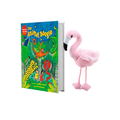 Animal Boogie with Flamingo Finger Puppet