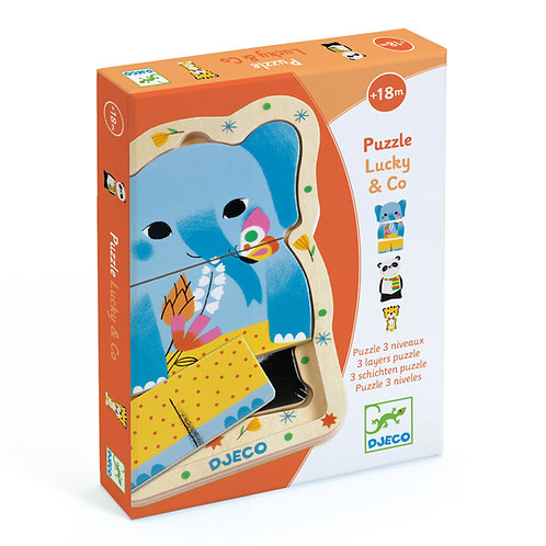 Lucky & Co 3 Layer Puzzles