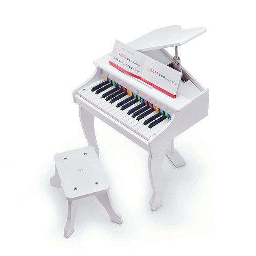Deluxe Grand Piano - White