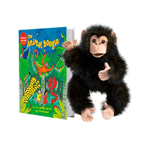 Animal Boogie with Full-Body Chimp Puppet