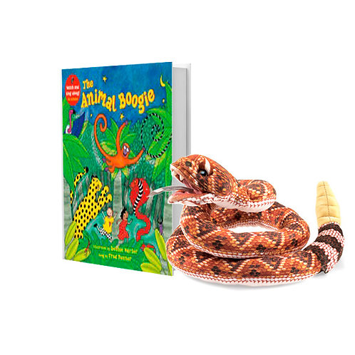 Animal Boogie with Full-Body Snake Puppet