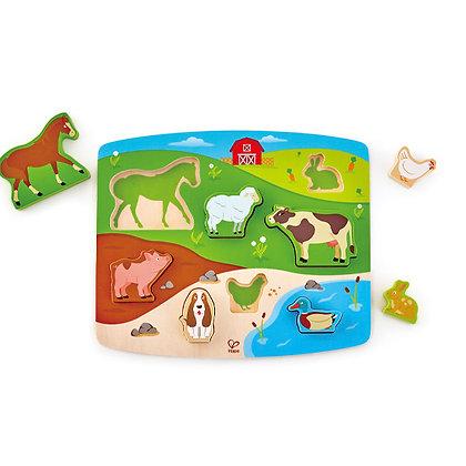 Farm Animal Puzzle & Play