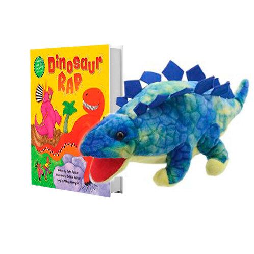 Dinosaur Rap with Full-Body Stegosaurus Puppet