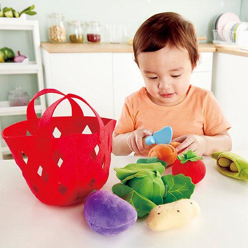Toddler Vegetable Basket