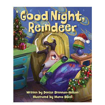 Good Night Reindeer - Book Only