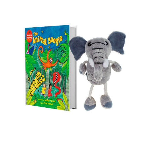 Animal Boogie with Elephant Finger Puppet