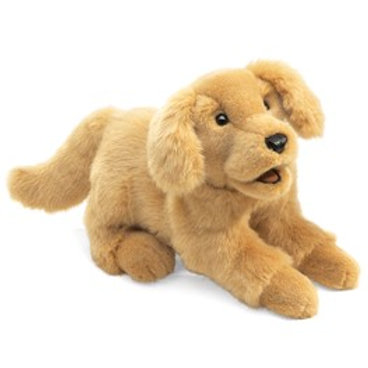 Full Body Golden Retriever Puppet