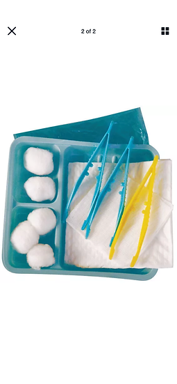 STERILE  DRESSING WOUND KIT