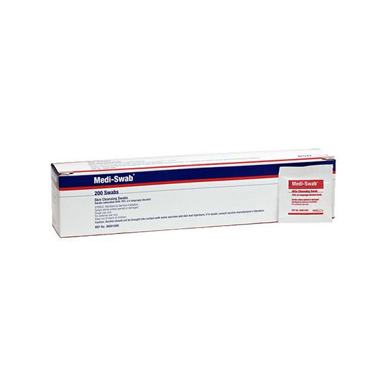 Medi-Swab Alcohol Wipes - 200 box