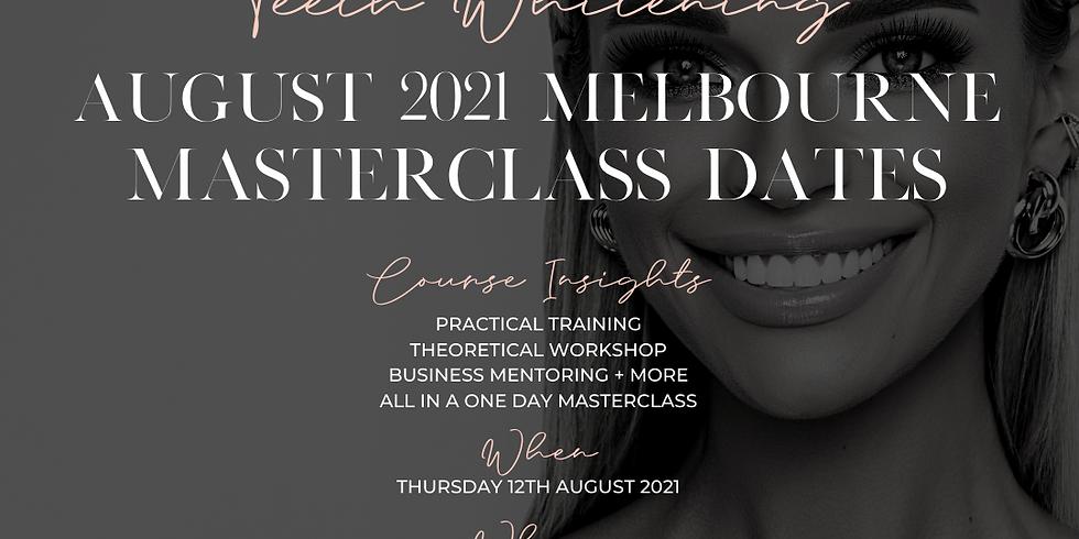 Cosmetic Teeth Whitening August 2021