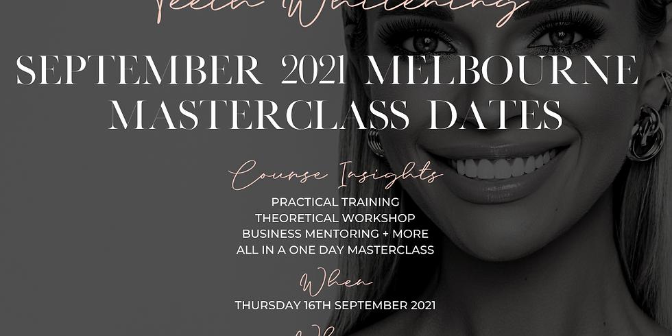 Cosmetic Teeth Whitening September 2021