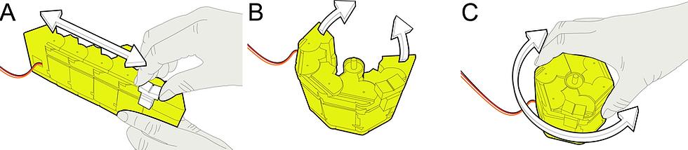 KnobSlider's shape-change concept illustration