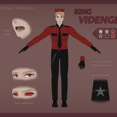 King Videnge Reference Sheet
