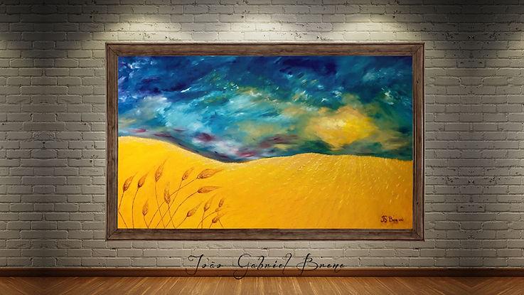 quadro,forma espacial, arte e expressão, especalista, pintura a oleo, escritor, pintor, quadros, picture, oil painting, pintura a oleo, campo de trigo