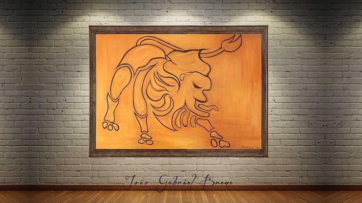 quadro,forma espacial, arte e expressão, especalista, pintura a oleo, escritor, pintor, quadros, picture, oil painting, pintura a oleo, leao, lion