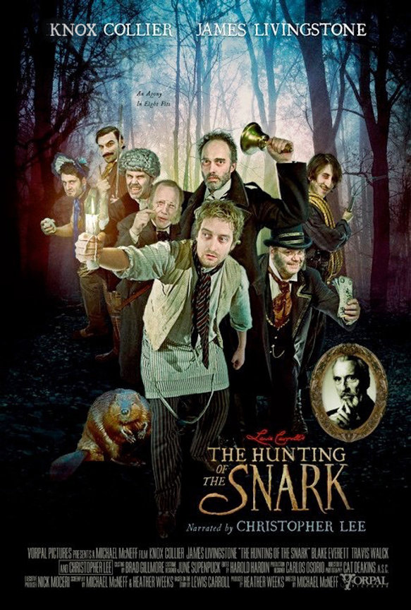 capa Hunting of the Snark with Christopher Lee by Michael McNeff.jpg