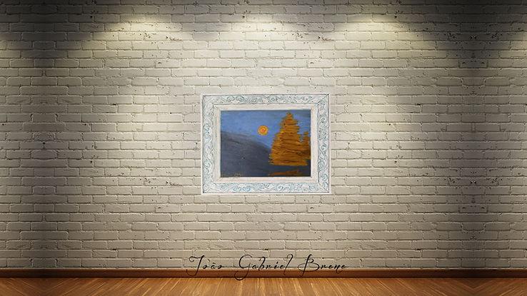 quadro,forma espacial, arte e expressão, especalista, pintura a oleo, escritor, pintor, quadros, picture, oil painting, pintura a oleo, noite, noite de natal