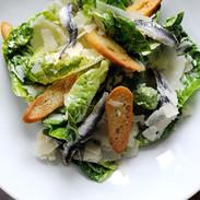 Classic Caesar Salad with Sardines