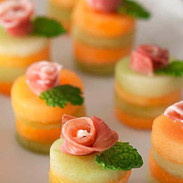 Prosciutto and Melon Appetizers